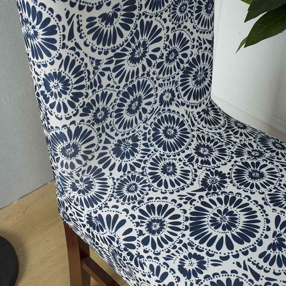 A / universal Chair Cover  Stretch Vintage Polyester Seat Covers