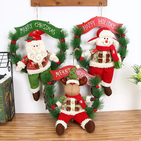 Wreath Door Wall Garland Decor Ornament