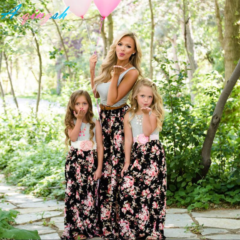 642584b1f Mother Daughter Matching Dresses Floral Print – Inspirational Clothing and  Accessories