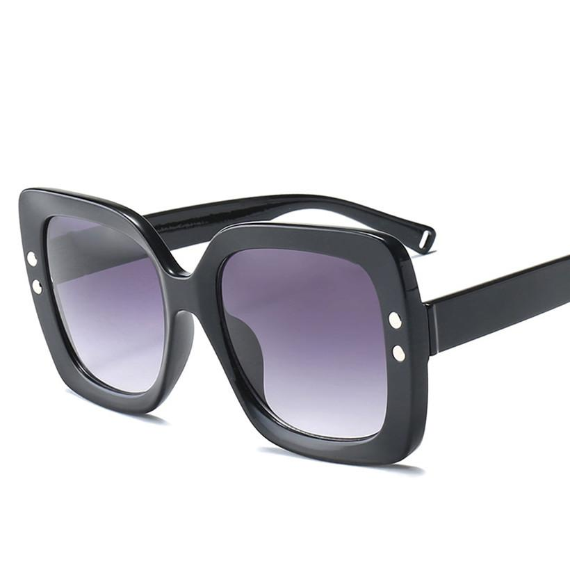 Sunglasses Green / as picture Large Frame Luxury Over Sized Ladies  Sunglasses