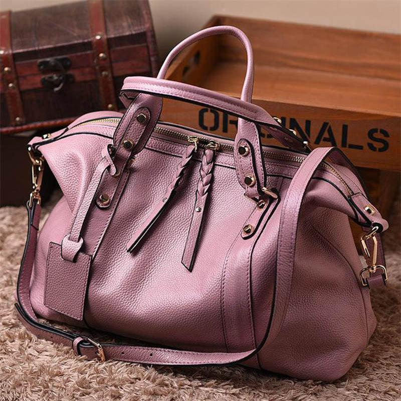 Shoulder Bags taro color Large Shoulder Handbag Ladies Casual Tote