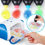 3D Magic Machine Printer Enlighten Painting Draw Kids Developmental Toy