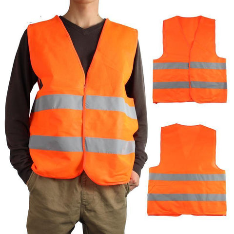 Reflective Vest Clothing  Security Visibility Traffic