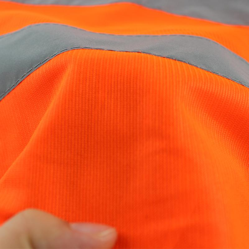 Reflective Safety Clothing Reflective Vest Clothing  Security Visibility Traffic