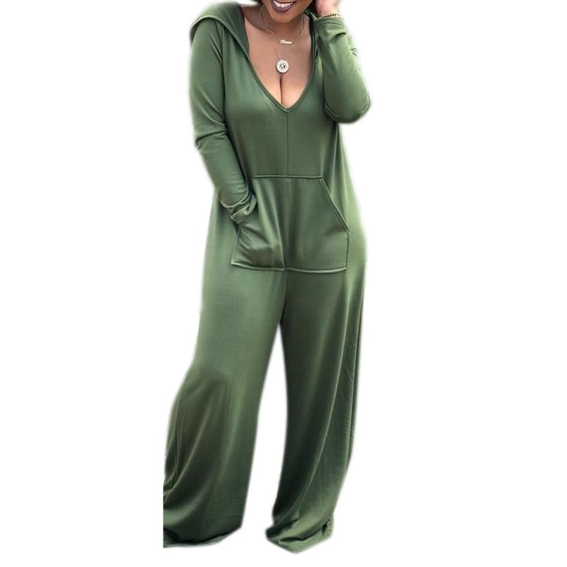 Jumpsuits Long Sleeve Rompers  Casual Overalls