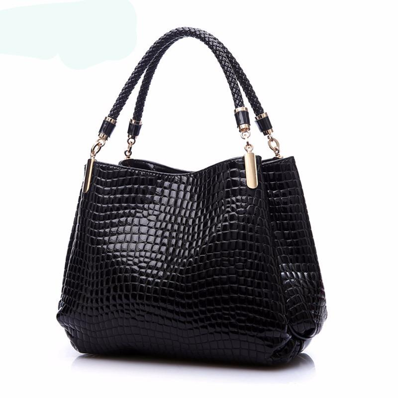 BLACK Luxury Handbag  Designer Handbag High Quality Tote