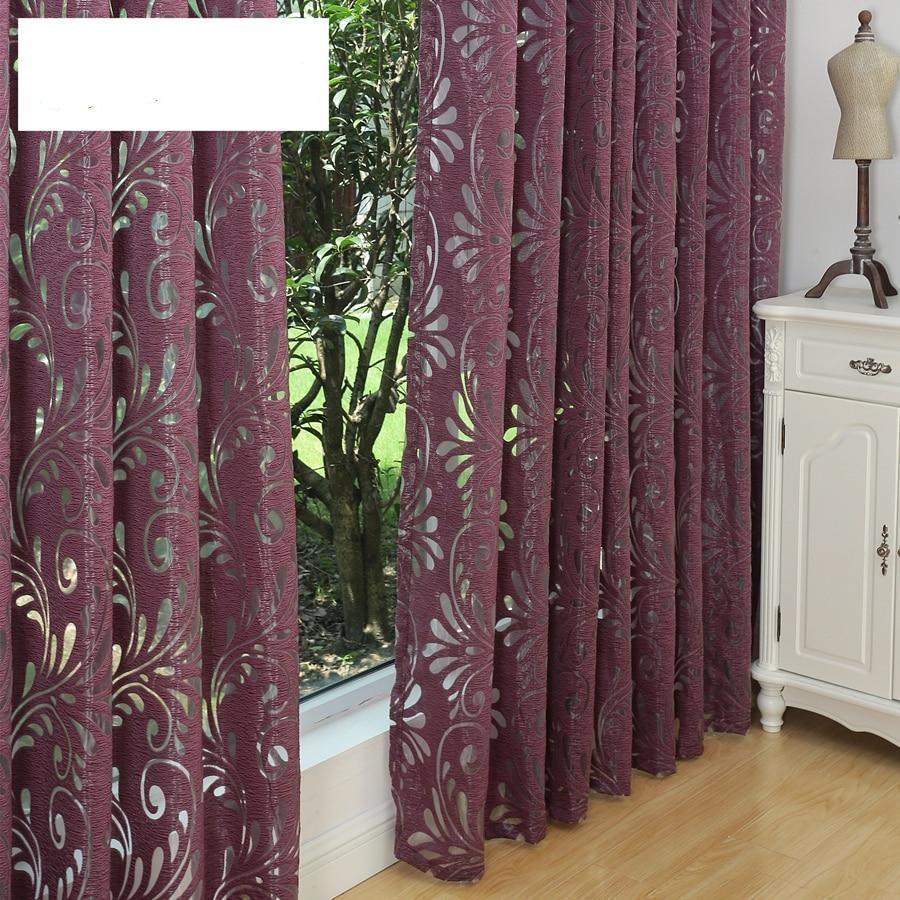 Semi-blackout Curtains  Panel Fabrics for Home Window