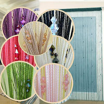 Sparkle Beaded String Door Curtain