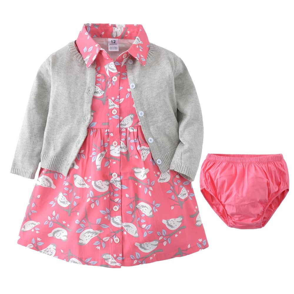Three Piece baby Girl Clothing set
