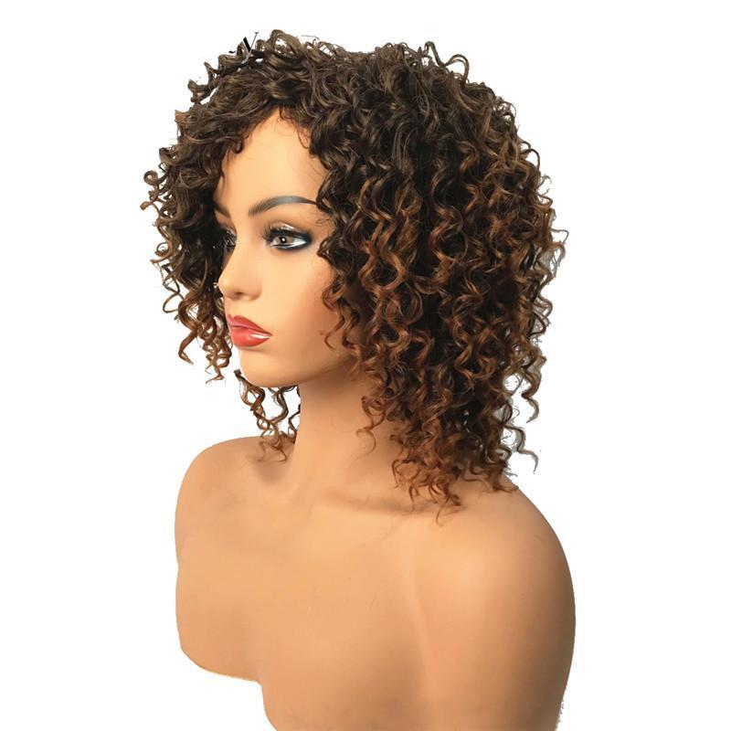 Wavy Curly Wig  Synthetic
