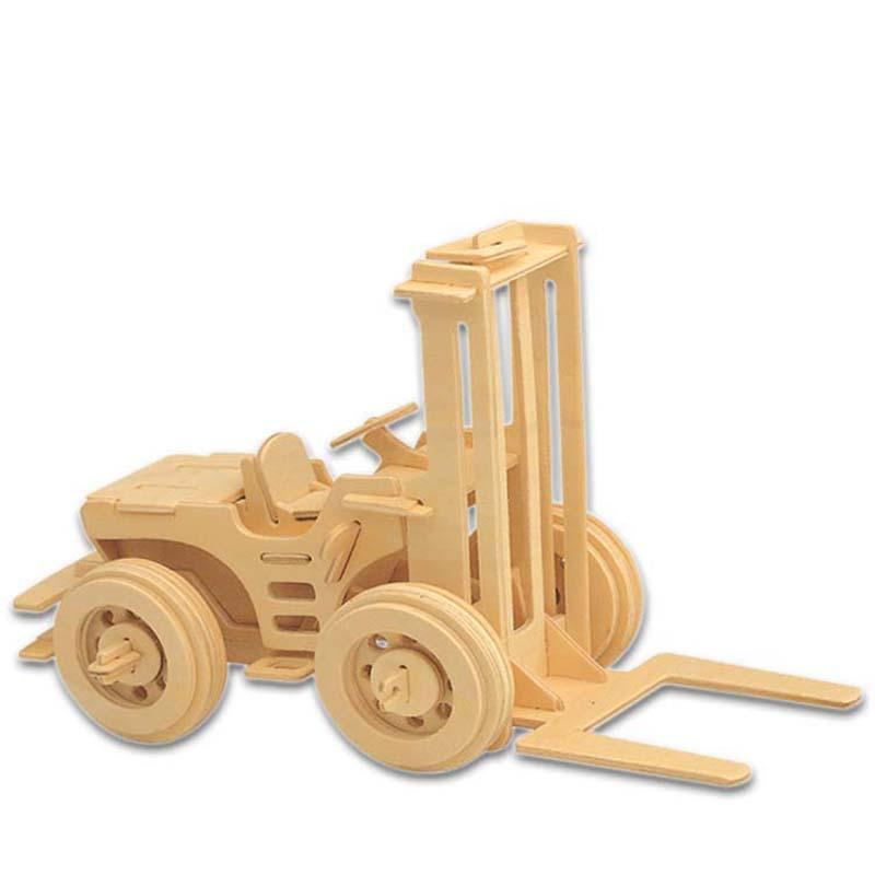 Mixer Truck 3D Puzzle  Wooden Puzzle Engineering Truck