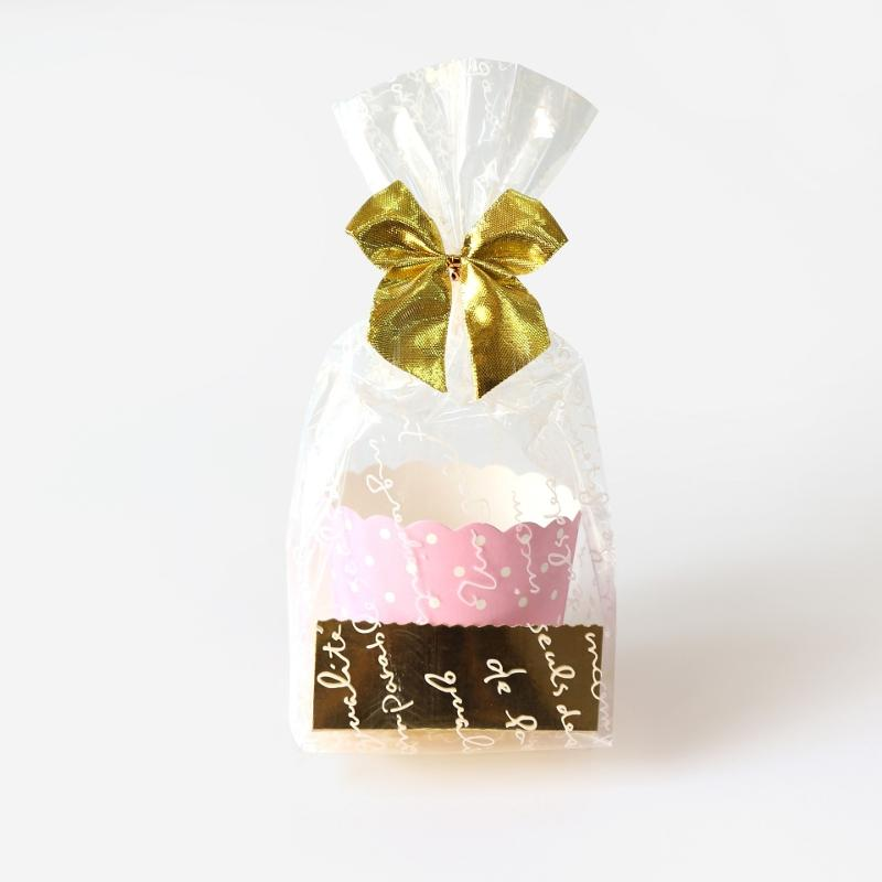 Cellophane Transparent 100 Pcs Cookie Bags