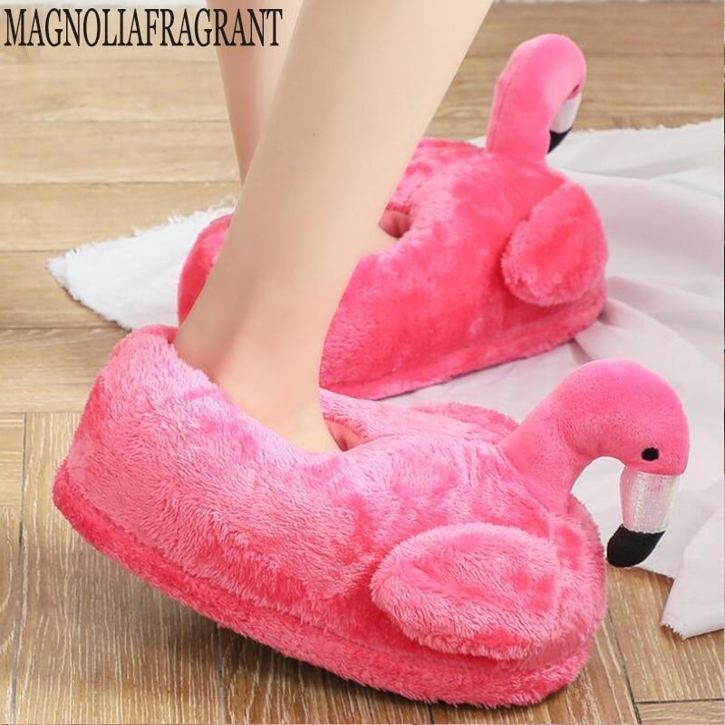 Slippers 1 / 4 House Slippers Flamingo Soft at Home Footwear