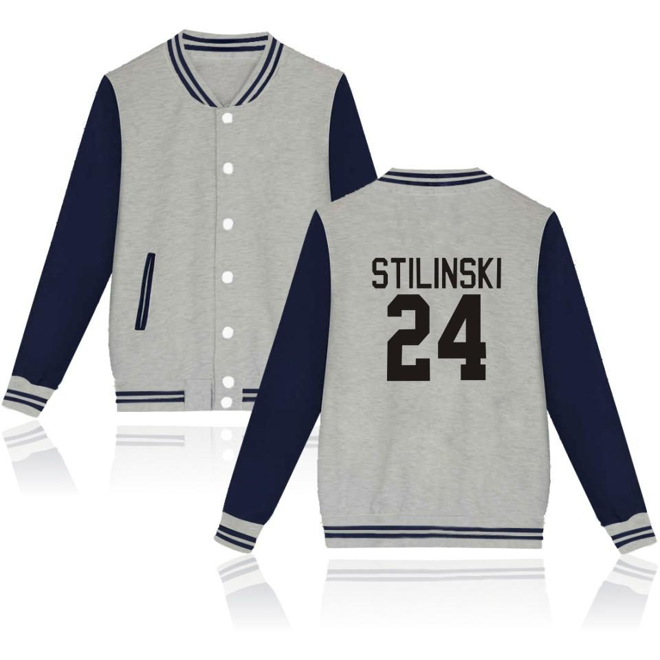 Jackets STILINSKI 24 Black / XXS Teen  Wolf Stilinski  Baseball Jacket