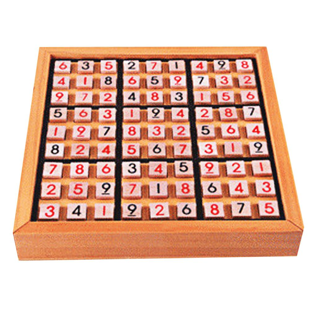 Sudoku Play Game Wooden   Puzzles