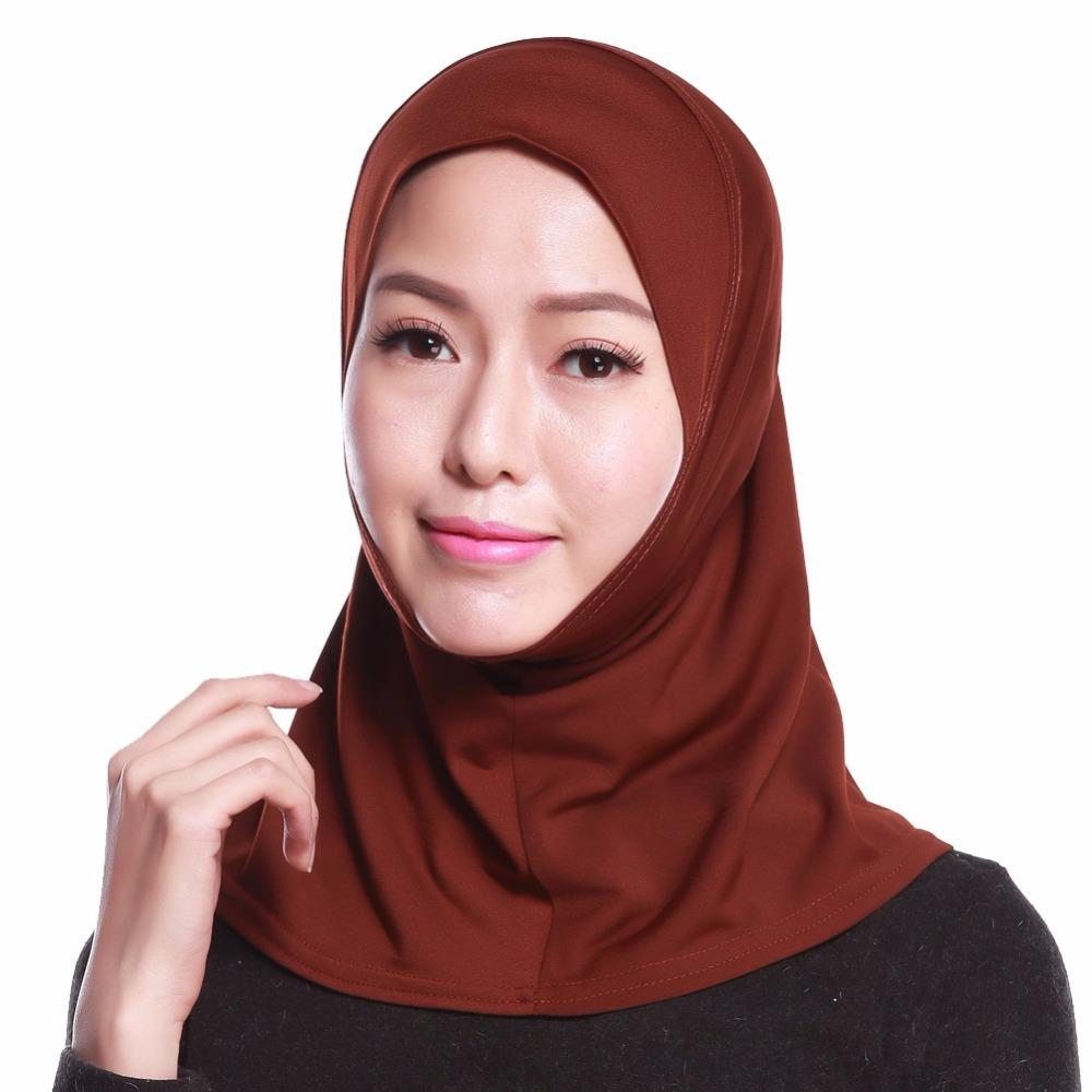 Scarves 1 Mini islamic headwear hat for ladies hijab hat for ladies