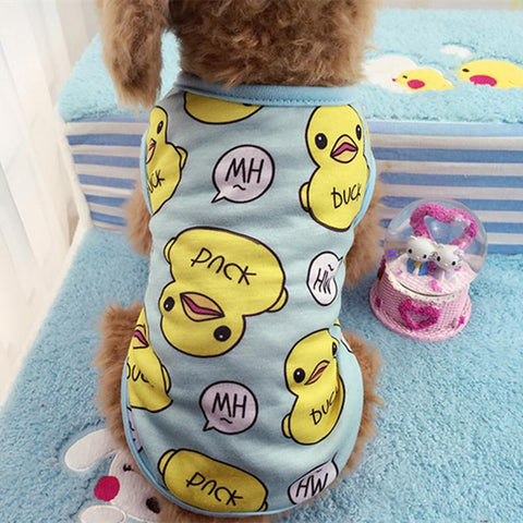 Pet Clothing Dog Sweater Dog Pajamas Cotton Sweatshirt