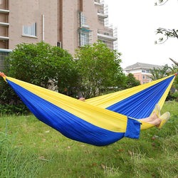 Outdoor Hammock  Bed Nylon Assorted Color  Fabric