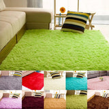 80*120cm  Carpets 11 Colors Rugs Carpets Fluffy Anti-Slip Shag Area Rug For Living Room
