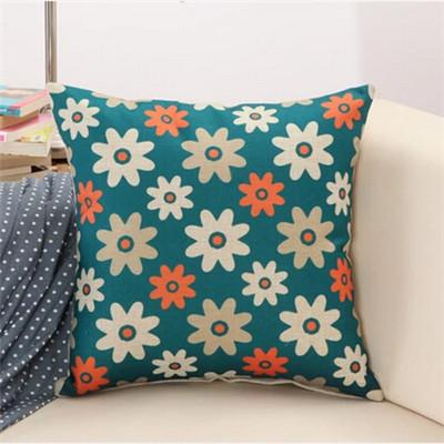 1 / 43x43cm Creative Geometric Polyester Square Home Decor Cushion Cover