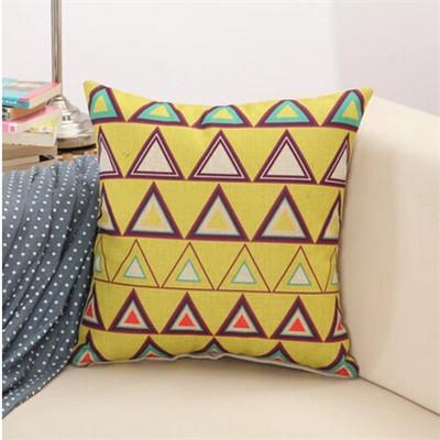 15 / 43x43cm Creative Geometric Polyester Square Home Decor Cushion Cover