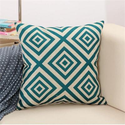 5 / 43x43cm Creative Geometric Polyester Square Home Decor Cushion Cover
