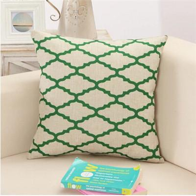 6 / 43x43cm Creative Geometric Polyester Square Home Decor Cushion Cover