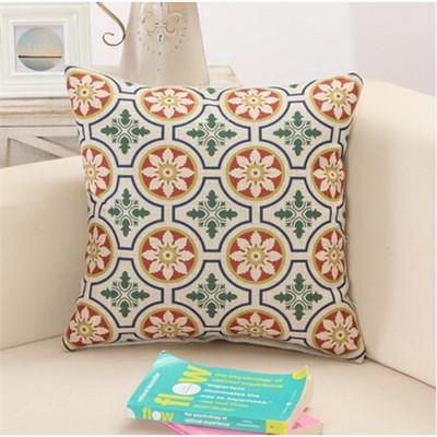 7 / 43x43cm Creative Geometric Polyester Square Home Decor Cushion Cover