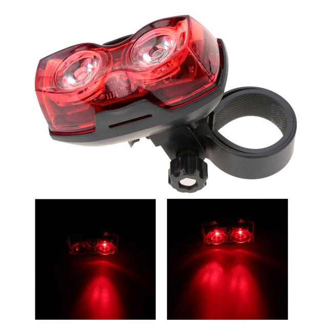 Bicycle LED  Cycling Back Tail Light Safety Flashing Rear Lights