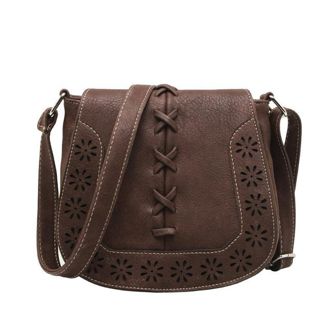 Hollow Out Cross Body Shoulder Bag