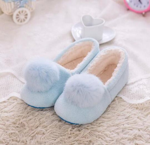 Warm Plush Soft Bedroom Slippers