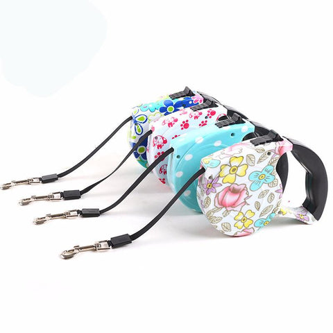 Retractable Dog Leash Varied Colors