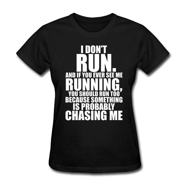 Funny Quote Women's T-Shirt Black / S