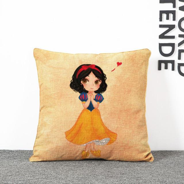 Red Princess Cushion Cover Great for any Child's Room