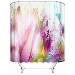 Bathroom Design Shower Curtains Floral