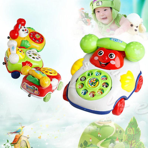 Baby Toys Music Cartoon Phone Educational Developmental Kids Toy