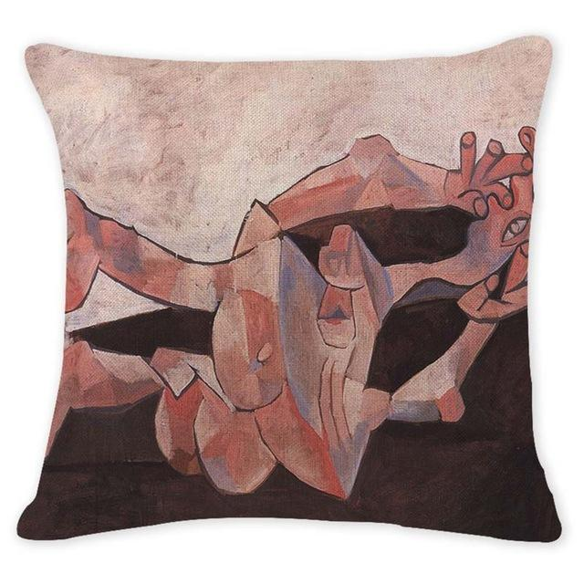 Cushion Cover 12943 Abstract Art Pillow Cases Oil Printed Picasso Pillow Cover