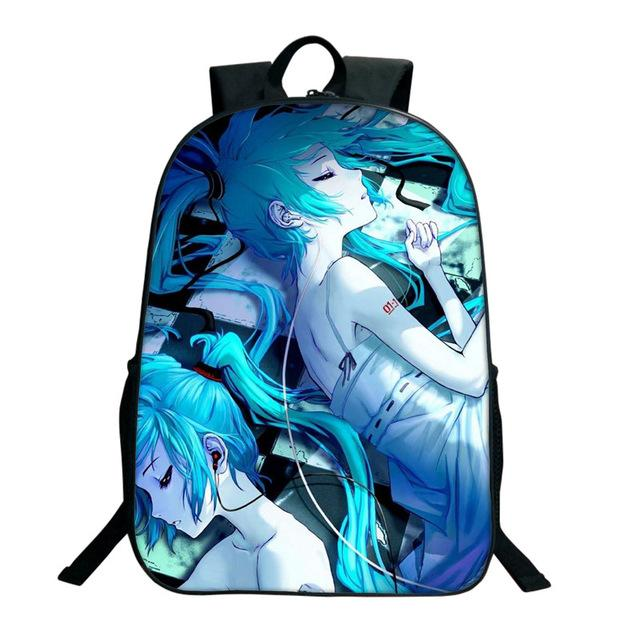 Anime School Bag Student Backpack