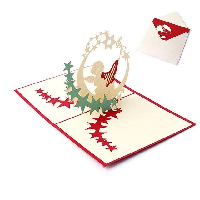 3D Pop Up Greeting Card