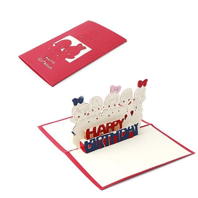 Cards & Invitations 60 3D Pop Up Greeting Card