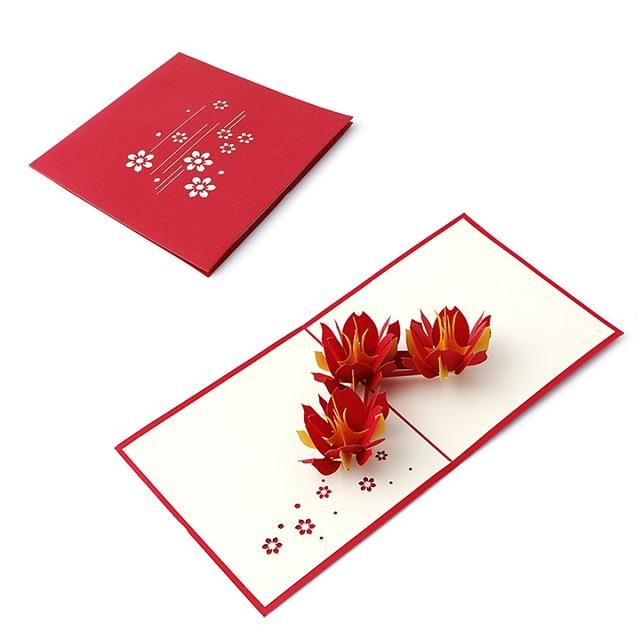 Cards & Invitations 64 3D Pop Up Greeting Card