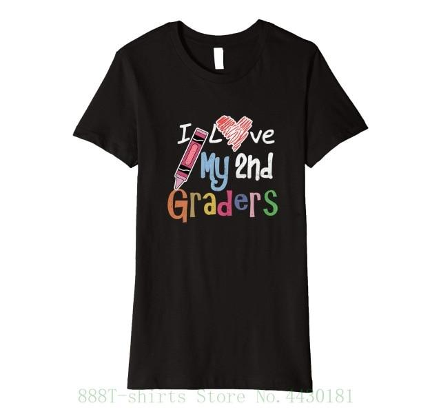 Women's Tee I Love My 2nd Graders T Shirt