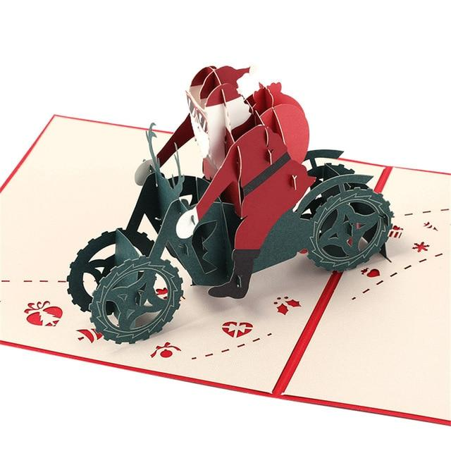 Cards & Invitations Pop Up Christmas Card  3D Greeting Cards C