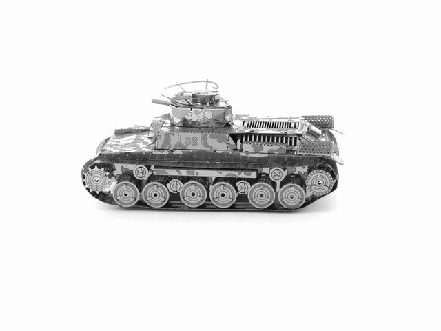 3D Puzzle Jigsaws Metal Toys 8 Styles tankers Toys for Adult Chi Ha Tank