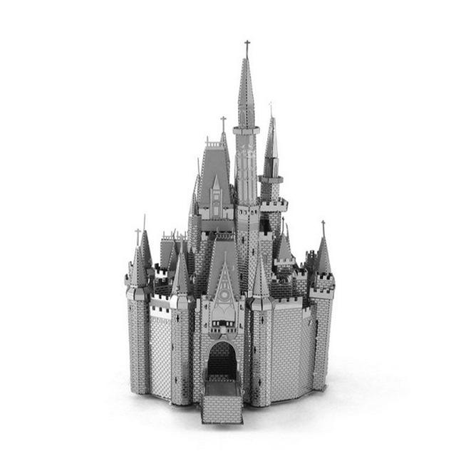 3D Puzzles Metal Jigsaw Puzzle intelligence Cinderella Castle