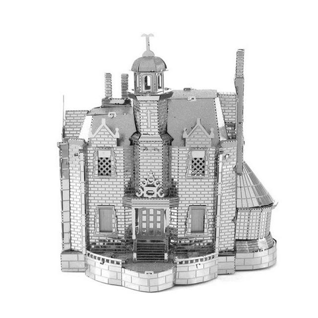 3D Puzzles Metal Jigsaw Puzzle intelligence Ghost House