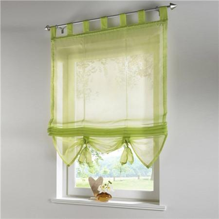 Blinds, Shades & Shutters Green 4 / A 60X140CM Vertical Blind Tulle Curtains  Floral Sheer Panel Polyester