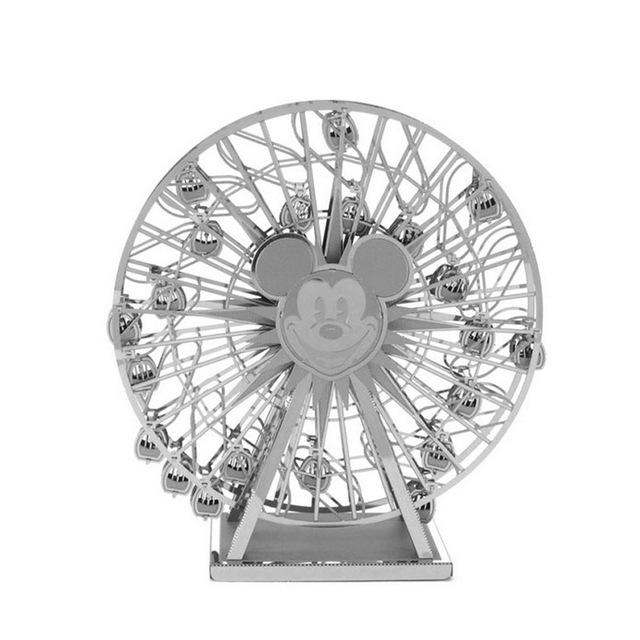 3D Puzzles Metal Jigsaw Puzzle intelligence Mickey Sky Wheel