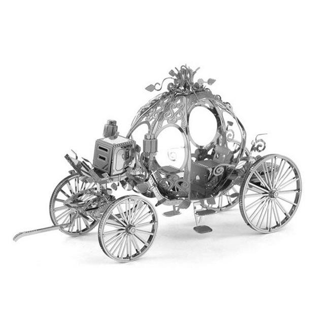3D Puzzles Metal Jigsaw Puzzle intelligence Princess Carriage