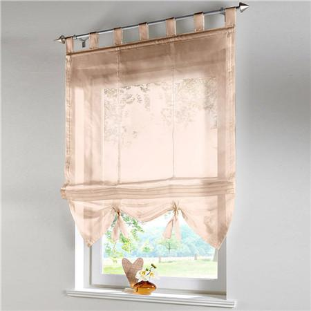 Blinds, Shades & Shutters Sandcolo 4 / A 60X140CM Vertical Blind Tulle Curtains  Floral Sheer Panel Polyester